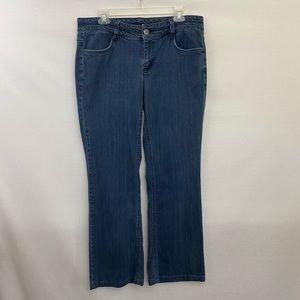 Liz & Co. Stretch Straight Leg Jeans Size 12 I-61